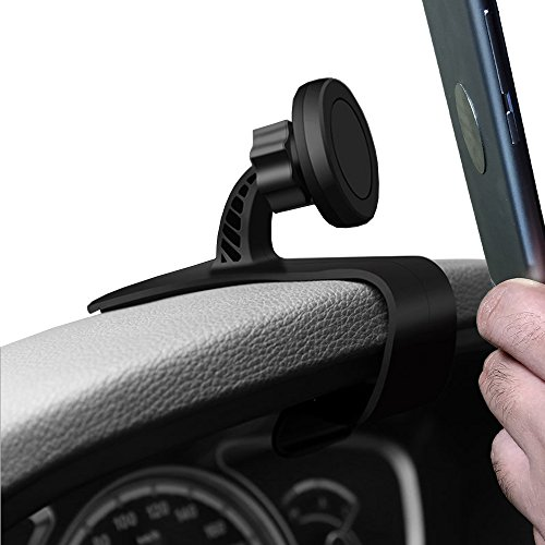 Magnetic Phone Car Mount, HUD Design MartsWOW Universal Car Phone Holder Adjustable Dashboard Phone Mount for Safe Driving for iPhone 8 / 8Plus / X, Samsung Galaxy S8 / Note 8 and other Devices