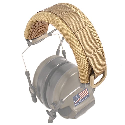 (U.S. Tactical Sewing USTS Advanced Modular Headset Cover (Coyote Brown))