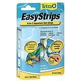 Tetra EasyStrips 6-in-1 Aquarium Test Strips - 25 pk