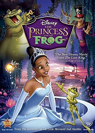 The Princess And Frog Single Disc Edition