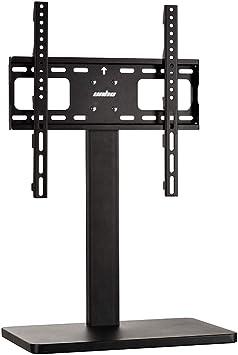 UNHO Soporte de Pedestal de TV Soporte Altura Ajustable para televisor de 26-55 LED LCD Plasma Base de Metal Carga Máx 132 lbs VESA 400×400 Negro: Amazon.es: Electrónica
