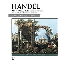 "Air and Variations (""Harmonious Blacksmith""): Alfred Masterwork Edition - Piano Solo Sheet Music"