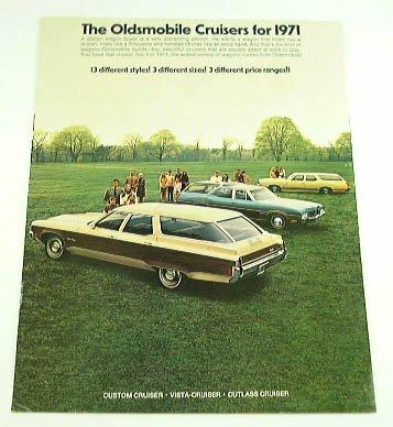 1971 71 OLDSMOBILE STATION WAGON BROCHURE - Oldsmobile Station Wagons
