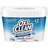 OxiClean White Revive Laundry Stain Remover Powder, 1.28-kg