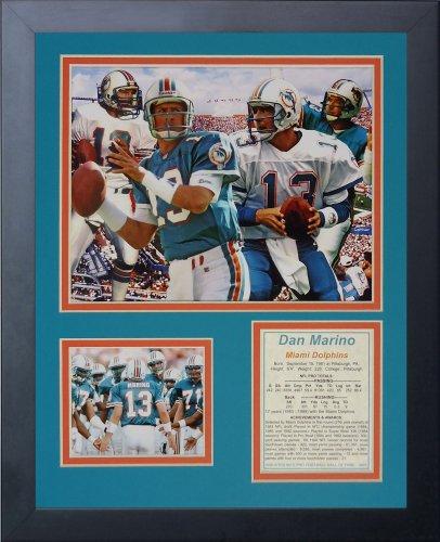 - Legends Never Die Dan Marino Framed Photo Collage, 11x14-Inch