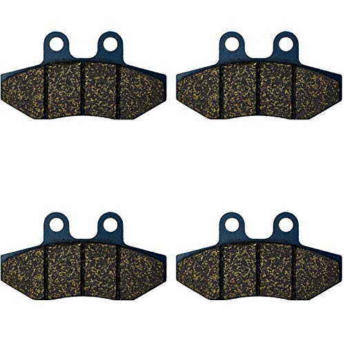 rco Sm 125/125 City Corp 03-06 Tomos Se 125 F 05-08 Beta Rr 50 Motard 06 Husqvarna Sm 50 02 Motorcycle Brake Pads Front - (Color: Front 2 Pairs) ()