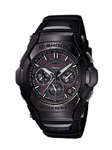 Casio Men's GS1300B-1A G-Shock Solar Atomic Black Analog Sport Watch