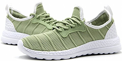 Mesh Fashion Running Outdoor Sports Shoes Green Summer Sneakers Top Low Womens Mens qxYB0E