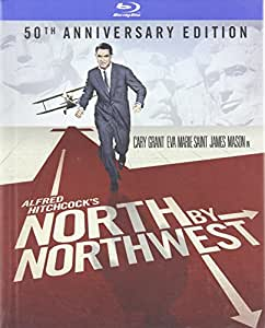 North By Northwest: 50th Anniversary Edition / La Mort aux trousses : 50e Anniversaire (Bilingual) [Blu-ray Book]