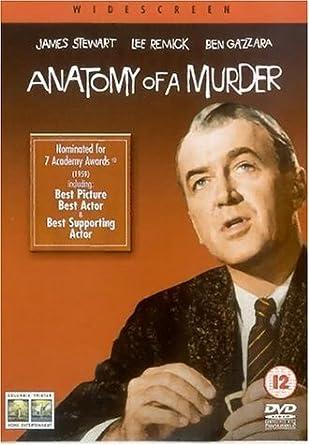 Anatomie eines Mordes EU-Import mit deutschem Originalton: Amazon.de ...