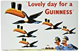 Lovely Day for a Guinness Metal Beer Sign