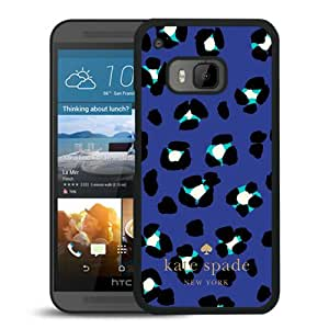 New Fashion Custom Designed Kate Spade Cover Case For HTC ONE M9 Black Phone Case 59