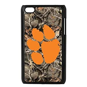 Custom Clemson Tigers Back Cover Case for ipod Touch 4JNIPOD4-006