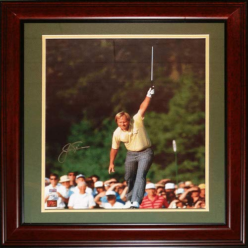 (Jack Nicklaus Autographed Signed Auto Golf 1986 Masters Deluxe Framed 16 20 Photograph Fanatics - Certified Authentic)