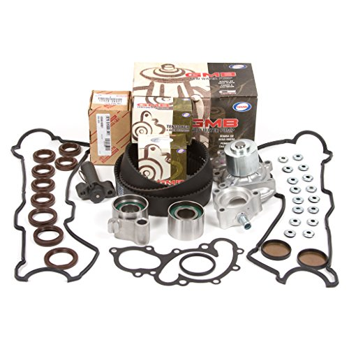 Belt Hydraulic - 95-04 Toyota 3.4 DOHC 24V 5VZFE Timing Belt Kit w/ Hydraulic Tensioner GMB Water Pump Valve Cover Gasket