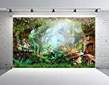 Kate 10x10ft Fairy Tale Backdrop Forest Photo Background Cotton Seamless Photo Booth Backdrop