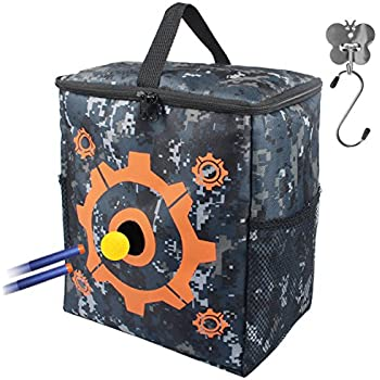 Amazon Com Amosting Ams Ttb 01 Targets Pouch For Nerf Gun