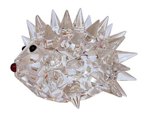 Crystal Hedgehog (Oleg Cassini Crystal Hedgehog Paperweight)