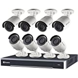 NVR16-7500 16 Channel 5MP Super HD HD Network Video Recorder and 8 x NHD-850 5MP Cameras