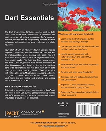 Dart Essentials: Martin Sikora: 9781783989607: Amazon com: Books