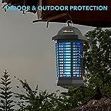 Hemiua Bug Zapper Outdoor, Electronic Mosquito