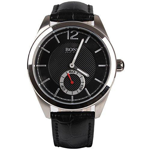 Hugo Boss 0 - Reloj de cuarzo para hombre, con correa de cuero, color