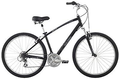 "Raleigh Bikes Venture 4.0 Comfort Bike, 17"" /Md, Black, 17"" / Medium"