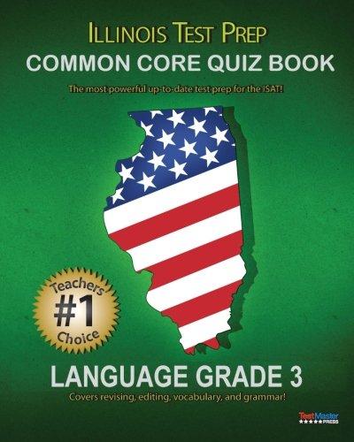 ILLINOIS TEST PREP Common Core Quiz Book Language Grade 3 pdf