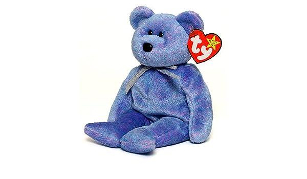 cd9848ae4ca Amazon.com  Clubby II the Bear - Ty Beanie Baby  Toys   Games