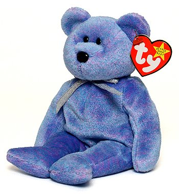 5446c7f0214 Image Unavailable. Image not available for. Color  Clubby II the Bear - Ty  Beanie Baby