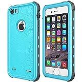 Waterproof Case pour iPhone SE, Merit Extérieure Coque Étanche Anti-poussière Douille de Cas