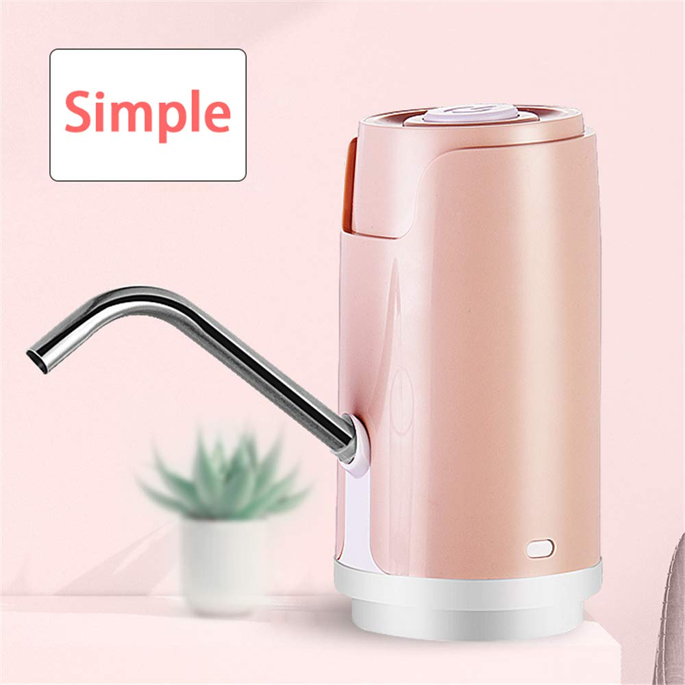 Kbxstart Electric Automatic Bottled Cold Water Dispenser Pump Portable Mini Dispensador De Agua Drinking Water Pump For a Bottle (Pink) - - Amazon.com