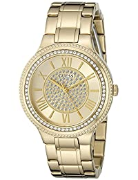 GUESS Women's U0637L2 Classic Gold-Tone Watch