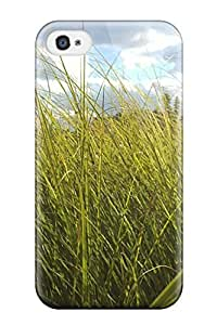 Durable Defender Case For Iphone 4/4s Tpu Cover(grass Earth Nature Other)