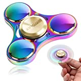 Fidget Spinner | Innoo Tech Colorful Hand Spinner Figit Spinner | Rainbow Spinner Fidget Toys | Spin 3-5 Minutes | Zinc Alloy | High Speed Stainless Steel Bearing | Anxiety Relief Toys