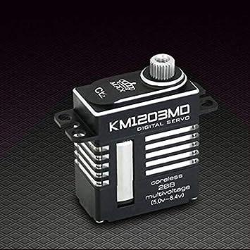 Amazon.com: Kingmax KM1203MD - Carcasa de aluminio CNC para ...