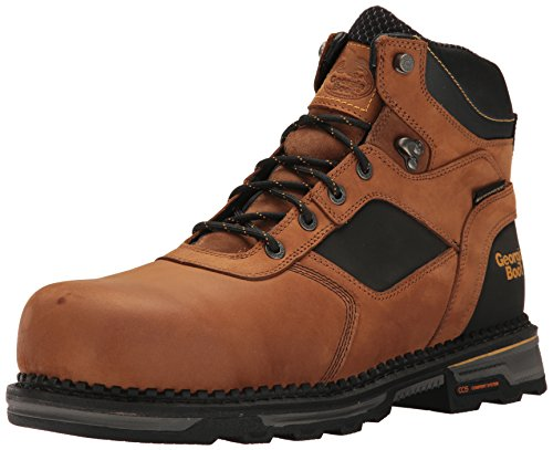 Georgia GB00131 Calf Boot Mid Brown 44w1qrA