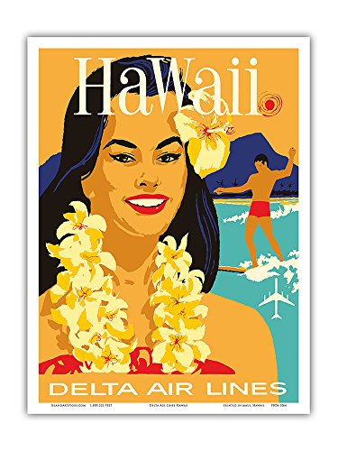 hawaii-delta-air-lines-hawaiian-island-girl-wearing-a-flower-lei-and-a-surfer-vintage-hawaiian-trave