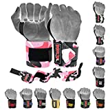 Weight Lifting GYM Training Wrist Wraps For Wrist Support Crossfit Wrap (Camo Pink)