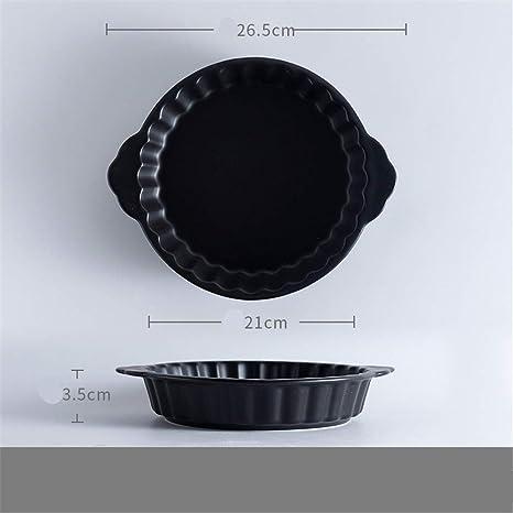 Bandeja de horno redonda mate microondas binaural bandeja de horno ...