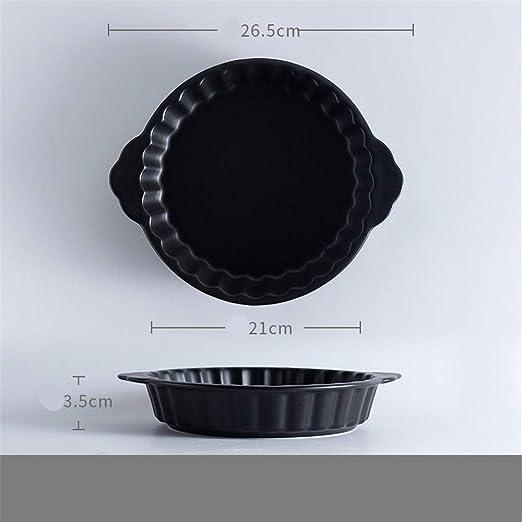 Bandeja de horno redonda mate microondas binaural bandeja de ...
