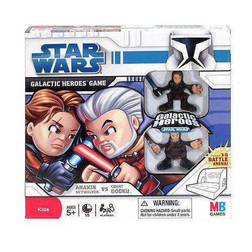 Heroes Game Galactic Wars (Star Wars Galactic Heroes Game Anakin Skywalker vs Count Dooku)