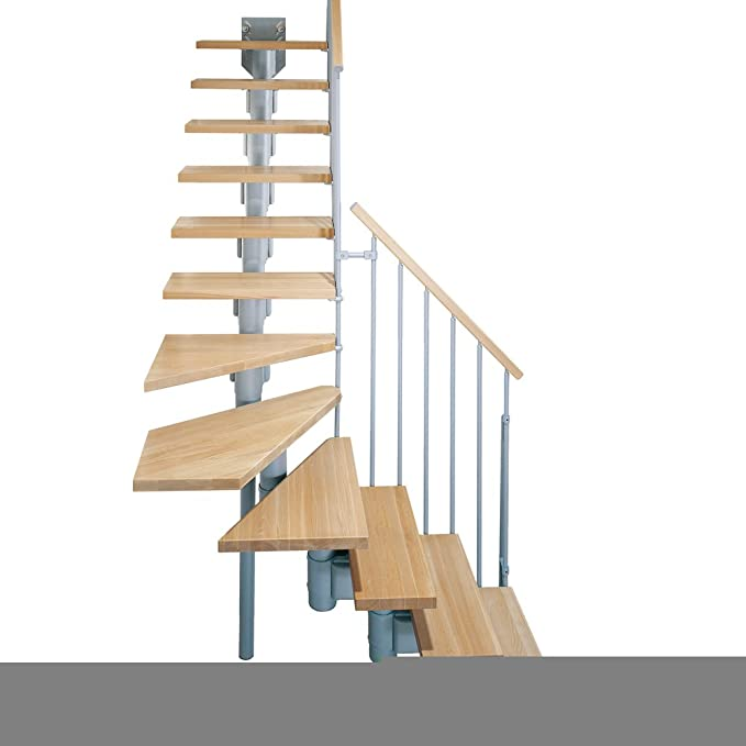 Arke 35 en. Gris Kompact Modular escalera
