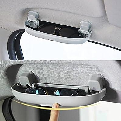 Soveran Funda para Gafas de Coche Caja de Almacenamiento Soporte para Mitsubishi Pajero V73 Galant Lioncel ASX RVR Auto Styling