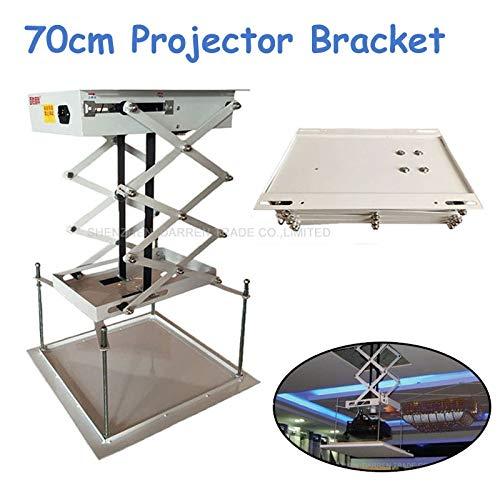 Projector Lift Model - Ochoos 70cm Ceiling Mount Projector Lift Motorized Electric Lift Scissors Projector Bracket with Remote Control 25W