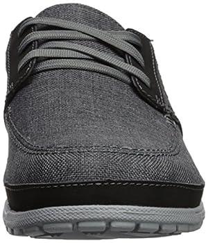 Crocs Men's Santa Cruz Playa Lace M Sneaker, Slate Greylight Grey, 10 M Us 3