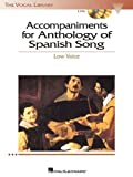 Accompaniments for Anthology of Spanish Song - Low Voice, , 1423418360