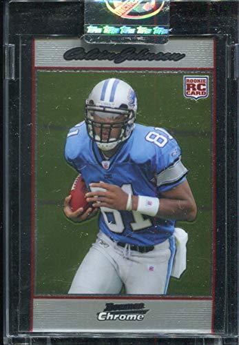 2007 Bowman Chrome Calvin Johnson RC #BC75 Detroit Lions #/1079 Uncirculated ()