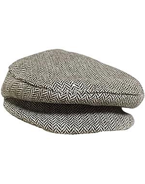 1PC Gray Baby Kids Boy Girl Beret Cap Gentleman Dome Hat Baseball Cap