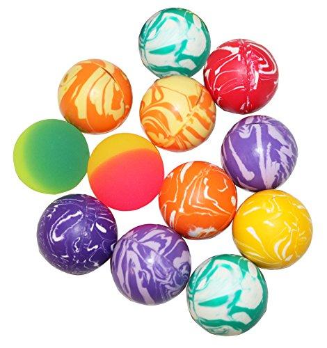 Hi Bounce Ball Assortment Of 12 Bouncing Balls ()